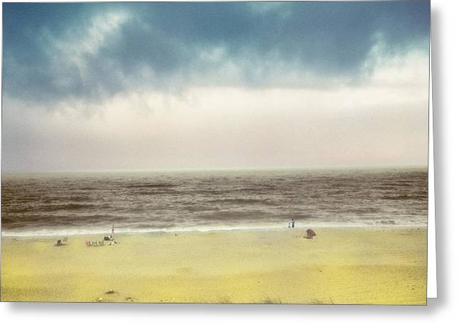 Clearing Storm Montauk Greeting Card