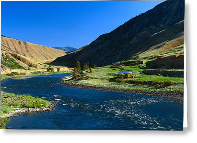 Clearwater River Lewis And Clark 1805 Greeting Card by Panoramic Images