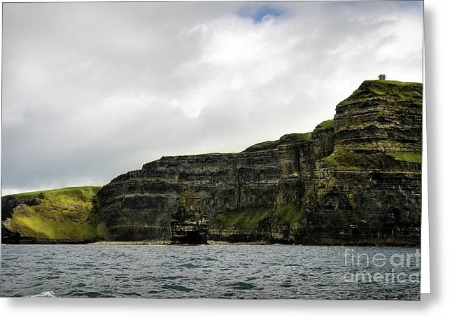 Greeting Card featuring the photograph Cliffs Of Moher From The Sea by RicardMN Photography