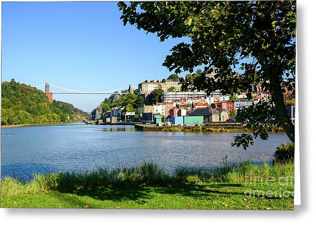 Clifton Suspenion Bridge Greeting Card