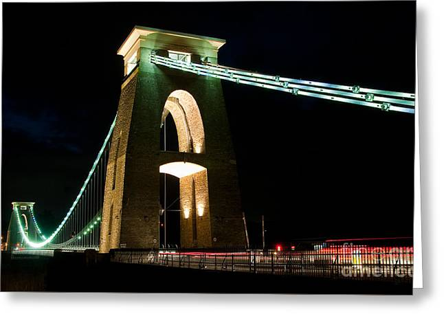 Clifton Suspension Bridge, Bristol. Greeting Card