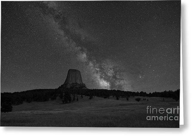 Close Encounters Of The Third Kind Devils Tower Greeting Card