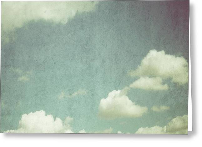 Cloud Greeting Card by Marianna Mills