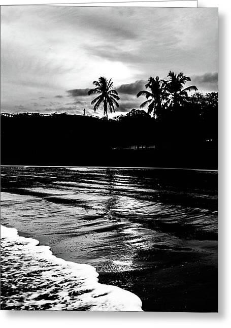 Coast Of Eden Greeting Card