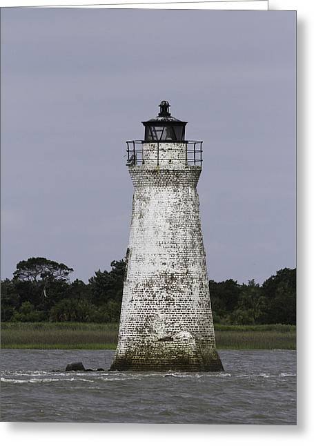 Cockspur Lighthouse Greeting Card
