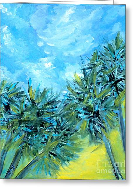 Collection Art  For Health And Life. Painting 10  Greeting Card
