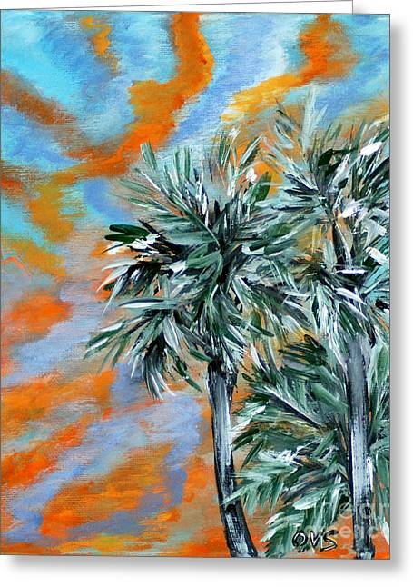 Collection. Art For Health And Life. Painting 2 Greeting Card