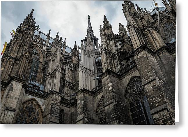 Cologne Cathedral - Germany Greeting Card by Jon Berghoff