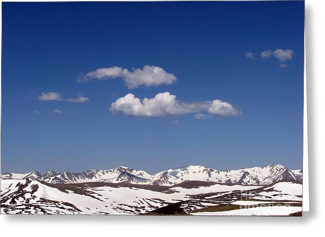 Colorado Greeting Card by Amanda Barcon
