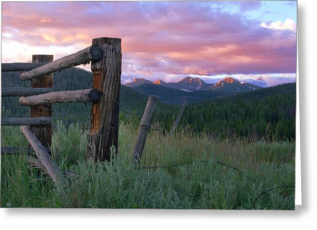 Colorado Glory Greeting Card