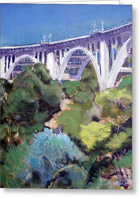 Colorado Street Bridge Greeting Card