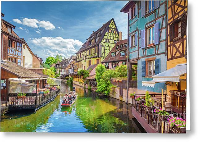 Colorful Colmar Greeting Card by JR Photography