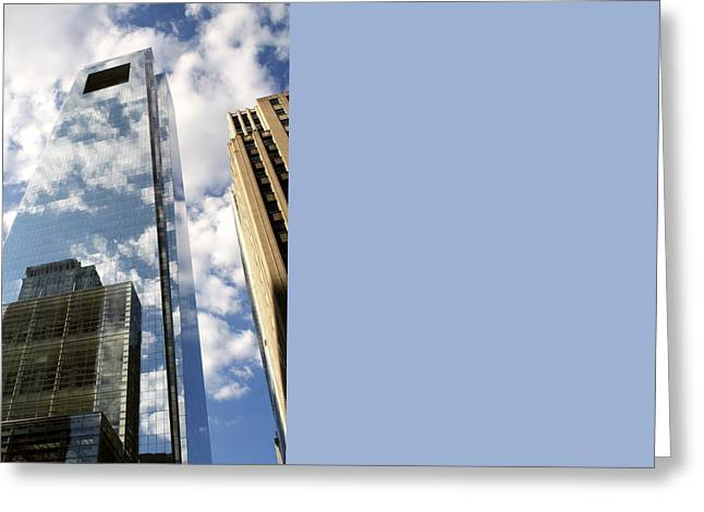 Comcast Center Greeting Card by Christopher Woods