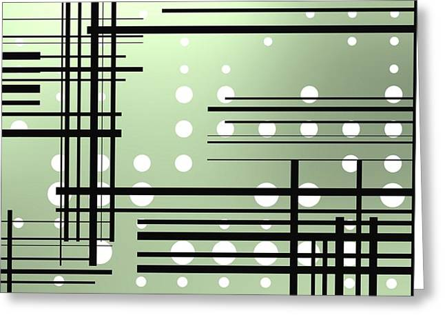 Composition 3 Greeting Card
