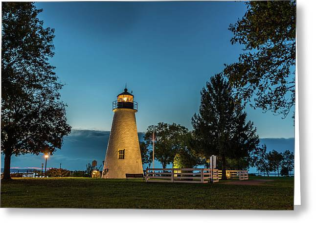 Concord Lighthouse Greeting Card
