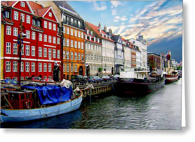 Copenhagen - Denmark Greeting Card
