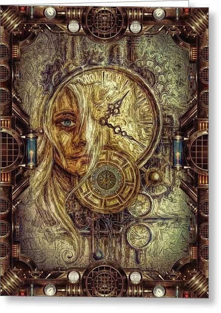 Sci-fi/fantasy Greeting Card