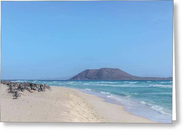 Corralejo - Fuerteventura Greeting Card by Joana Kruse