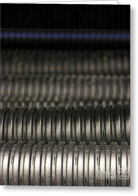 Corrugated Drain Pipe-deep Greeting Card