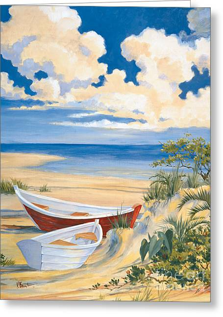 Costa Del Sol II Greeting Card by Paul Brent