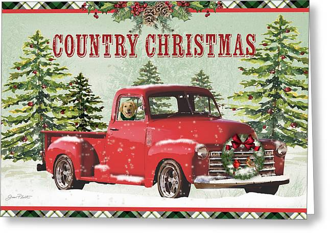 Country Christmas-jp3674 Greeting Card