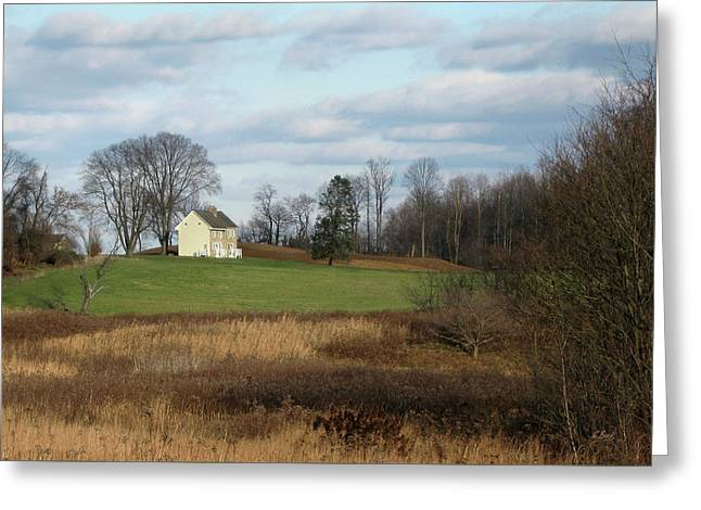 Country Comfort Greeting Card by Gordon Beck
