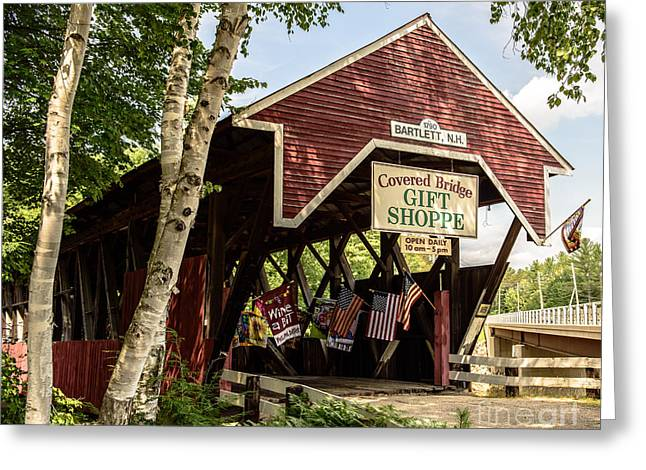 Covered Bridge Gift Shoppe Greeting Card
