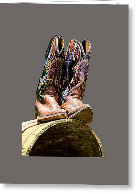 Cowboy Boots  Greeting Card