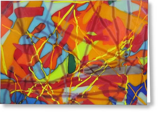 Crayola No.2 Greeting Card by Mark Lubich