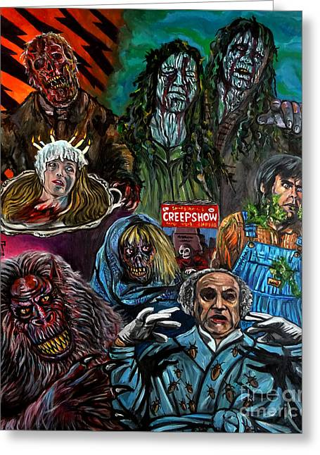 Creepshow Greeting Card by Jose Mendez