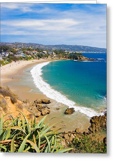 Crescent Bay Laguna Beach California Greeting Card