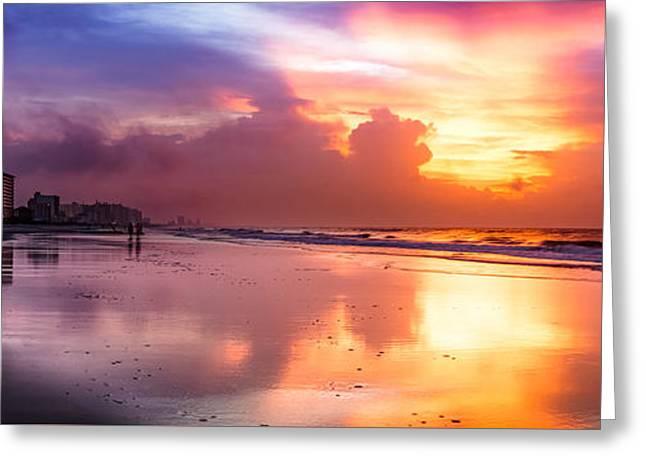 Crescent Beach September Morning Greeting Card