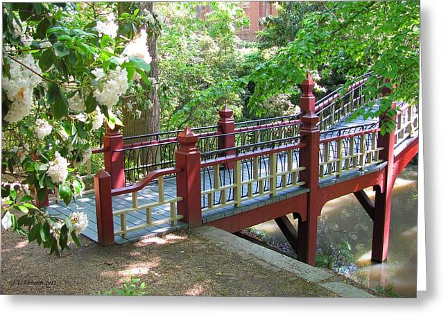 Crim Dell Bridge IIi Greeting Card