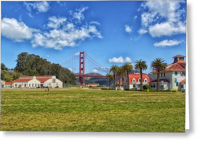 Crissy Field - San Francisco Greeting Card by Mountain Dreams