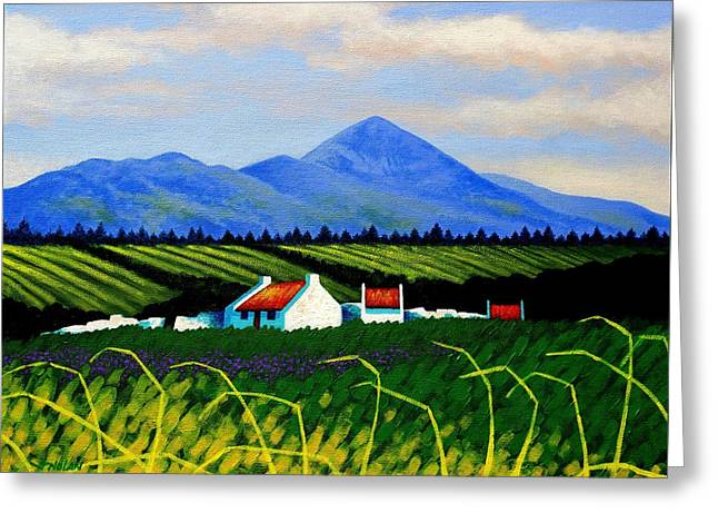 Croagh Patrick County Mayo Greeting Card