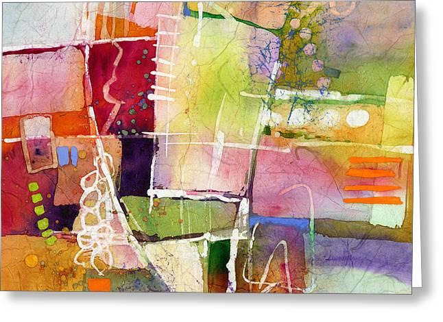 Crossroads Greeting Card by Hailey E Herrera
