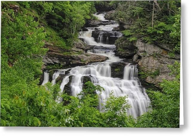 Cullasaja Falls Greeting Card