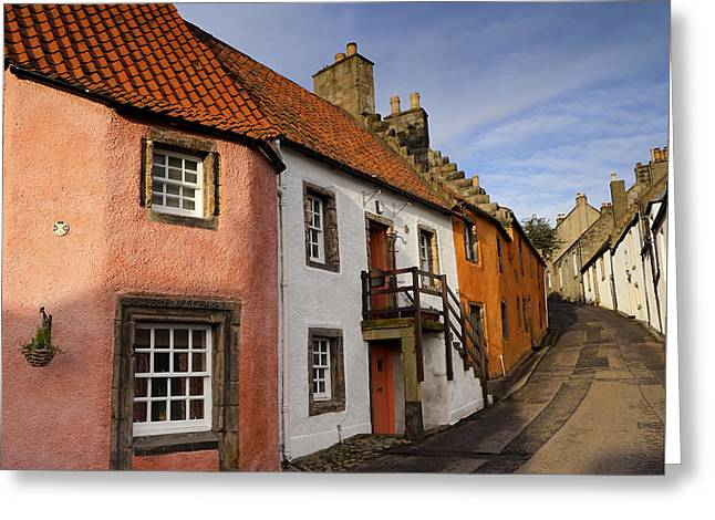 Culross Greeting Card by Jeremy Lavender Photography