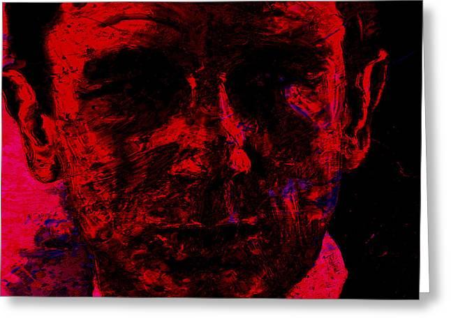Daniel Craig Greeting Card by Brian Reaves