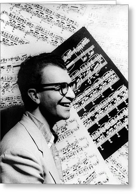 Dave Brubeck (1920- ) Greeting Card by Granger