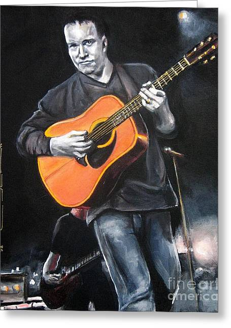 Dave Mathews Band Greeting Card by Eric Dee