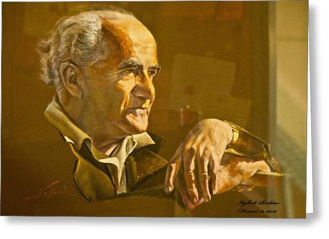 David Ben Gurion - Israel First Pm Greeting Card