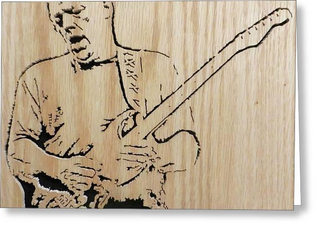 David Gilmour Greeting Card