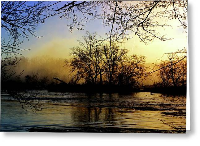 Greeting Card featuring the photograph Morning Dawn by EDi by Darlene