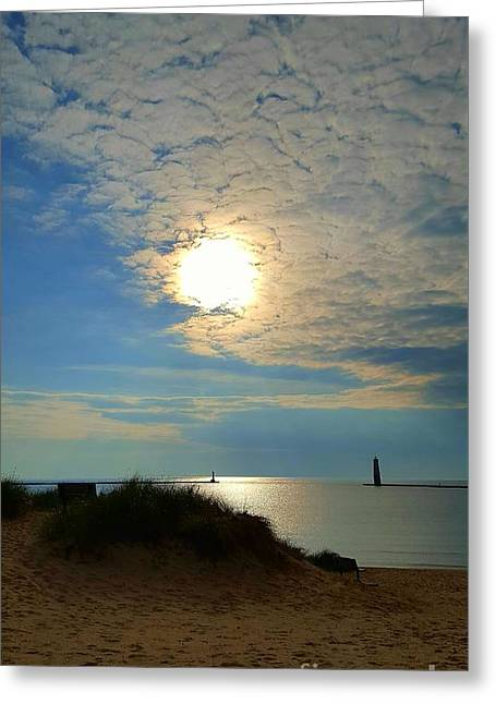 Day Is Done Greeting Card by Debra Kaye McKrill