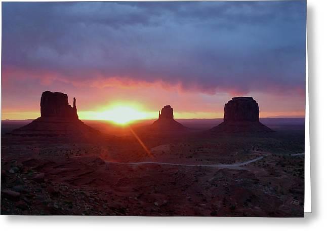 Daybreak Greeting Card by Gordon Beck