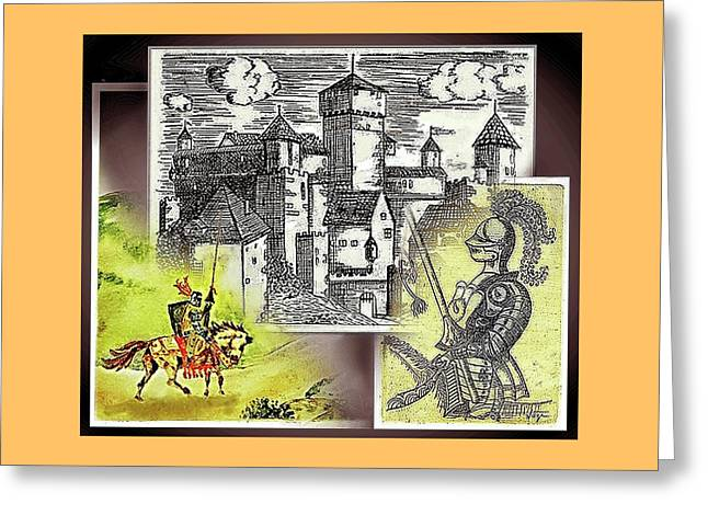 Days Of Camelot Greeting Card