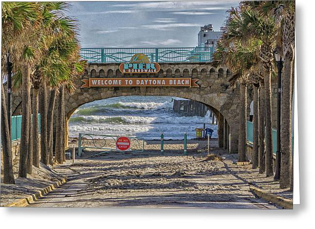 Daytona Beach Greeting Card