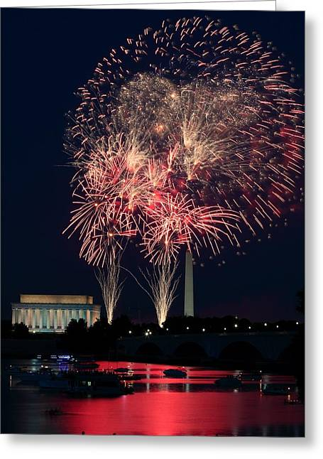 Dc 4th Of July Greeting Card