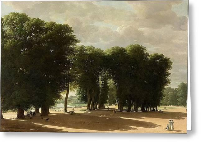 De Ingang Van Het Park Van St Cloud Te Parijs Greeting Card